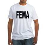 FEMA (Front) Fitted T-Shirt