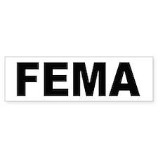 FEMA Bumper Bumper Sticker