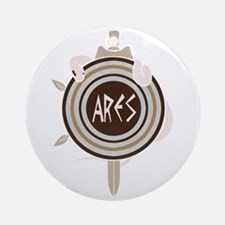 Ares Round Ornament