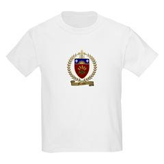 MESSIER Family Crest Kids T-Shirt