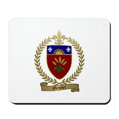 MESSIER Family Crest Mousepad