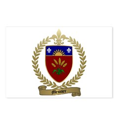 MESSIER Family Crest Postcards (Package of 8)