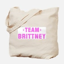 Team BRITTNEY Tote Bag