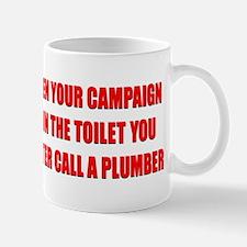 Call a Plumber Mug
