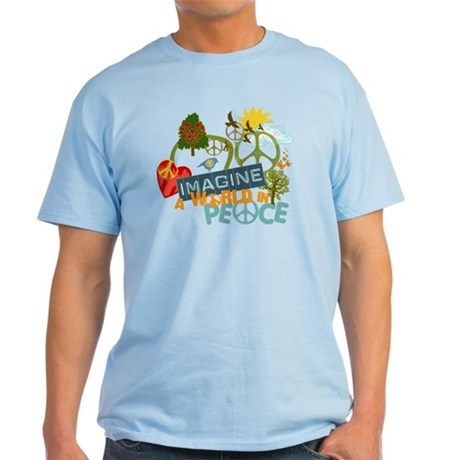 Imagine World Peace Light T-Shirt