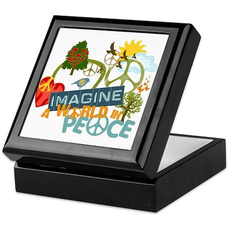 Imagine World Peace Keepsake Box