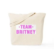 Team BRITNEY Tote Bag