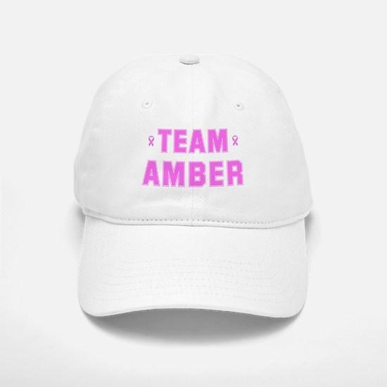Team AMBER Baseball Baseball Cap