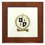 MIUS d'ENTREMONT Family Crest Framed Tile