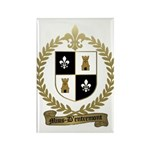 MIUS d'ENTREMONT Family Crest Rectangle Magnet (10