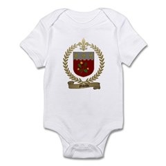 MIVILLE Family Crest Infant Creeper