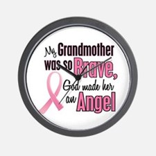Angel 1 (Grandmother BC) Wall Clock