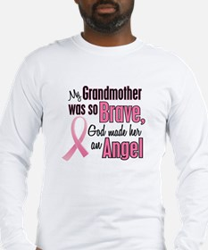 Angel 1 (Grandmother BC) Long Sleeve T-Shirt
