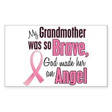 Angel 1 (Grandmother BC) Rectangle Sticker 10 pk)