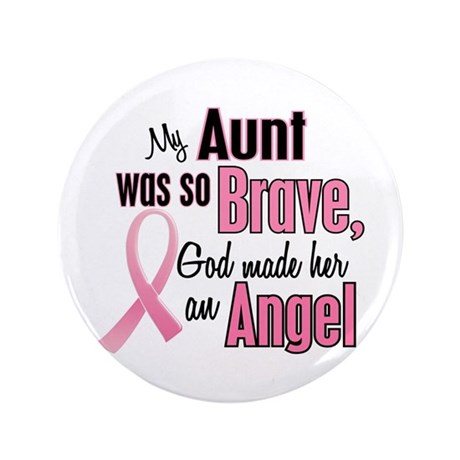 "Angel 1 (Aunt BC) 3.5"" Button"