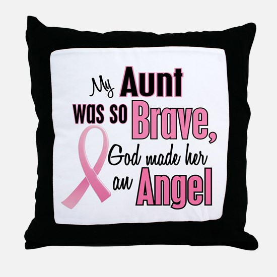 Angel 1 (Aunt BC) Throw Pillow