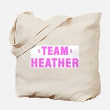 Team HEATHER Tote Bag