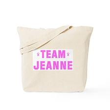 Team JEANNE Tote Bag