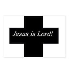 Jesus is Lord! (Black Cross w Postcards (Package o