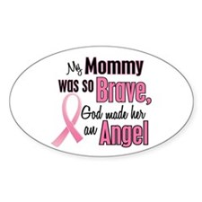 Angel 1 (Mommy BC) Oval Decal