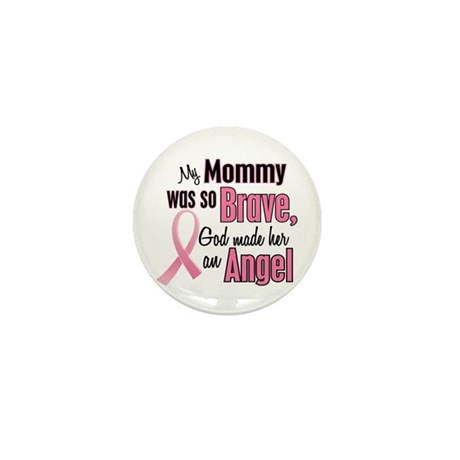 Angel 1 (Mommy BC) Mini Button (10 pack)