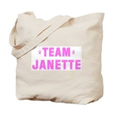 Team JANETTE Tote Bag