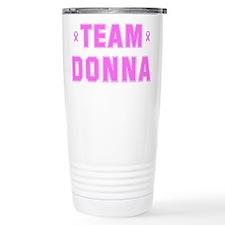 Team DONNA Travel Mug