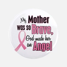 """Angel 1 (Mother BC) 3.5"""" Button"""