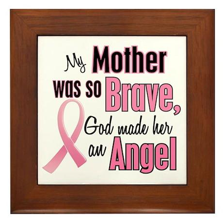 Angel 1 (Mother BC) Framed Tile