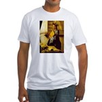 Vermeer Model detail Fitted T-Shirt