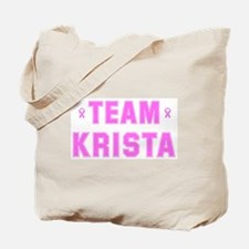 Team KRISTA Tote Bag