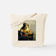 Vermeer Lacemaker Tote Bag