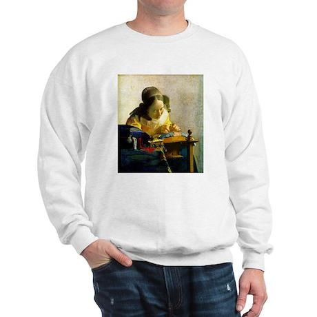 Vermeer Lacemaker Sweatshirt