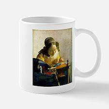 Vermeer Lacemaker Mug