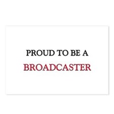 Proud to be a Broadcaster Postcards (Package of 8)