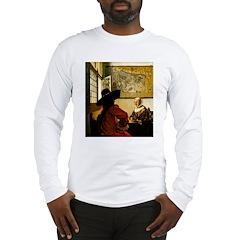 Laughing Woman Long Sleeve T-Shirt