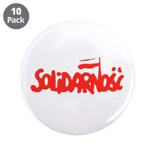 "Solidarnosc 3.5"" Button (10 pack)"