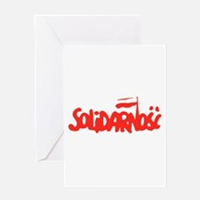 Solidarnosc Greeting Card