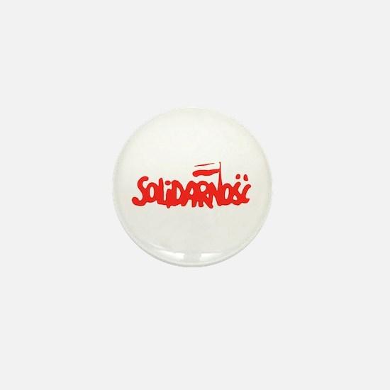 Solidarnosc Mini Button