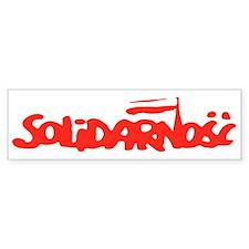 Solidarnosc Bumper Stickers