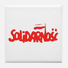 Solidarnosc Tile Coaster