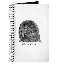 Cute Tibetan mastiff Journal