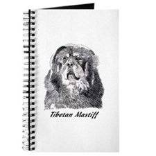 Funny Tibetan mastiff Journal