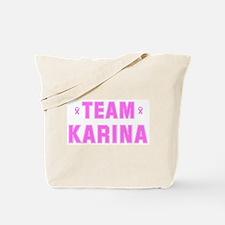Team KARINA Tote Bag