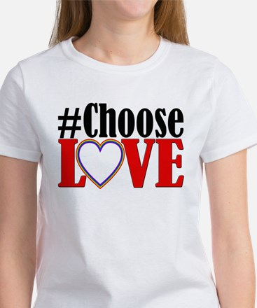 Choose Love Heart T-Shirt