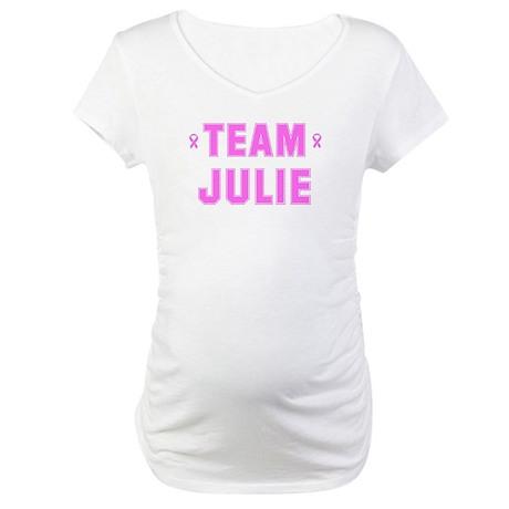Team JULIE Maternity T-Shirt