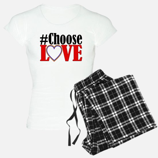 Choose Love Heart Pajamas