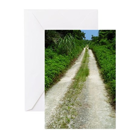 Taketomi Dirt Road Greeting Cards (Pk of 10)