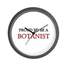Proud to be a Botanist Wall Clock