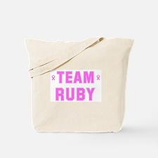Team RUBY Tote Bag